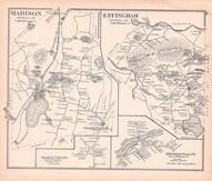 Madison, Effingham, New Hampshire State Atlas 1892 Uncolored